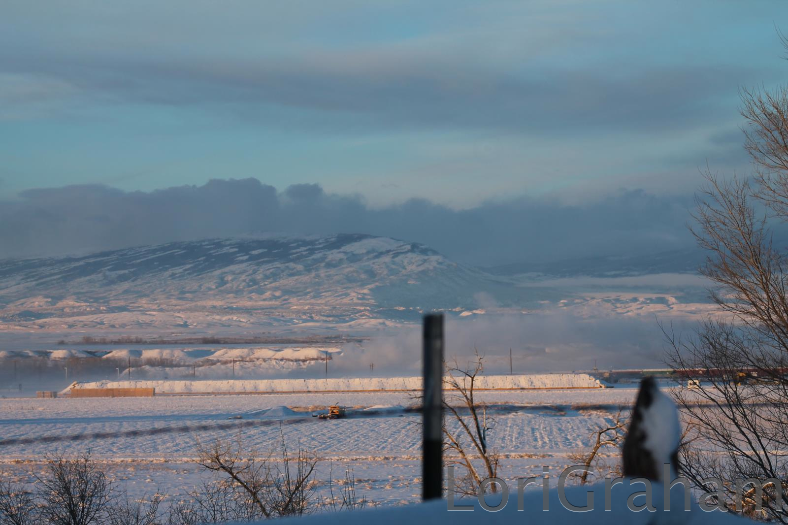 A look at the snowy Pryors, December 10, 2012