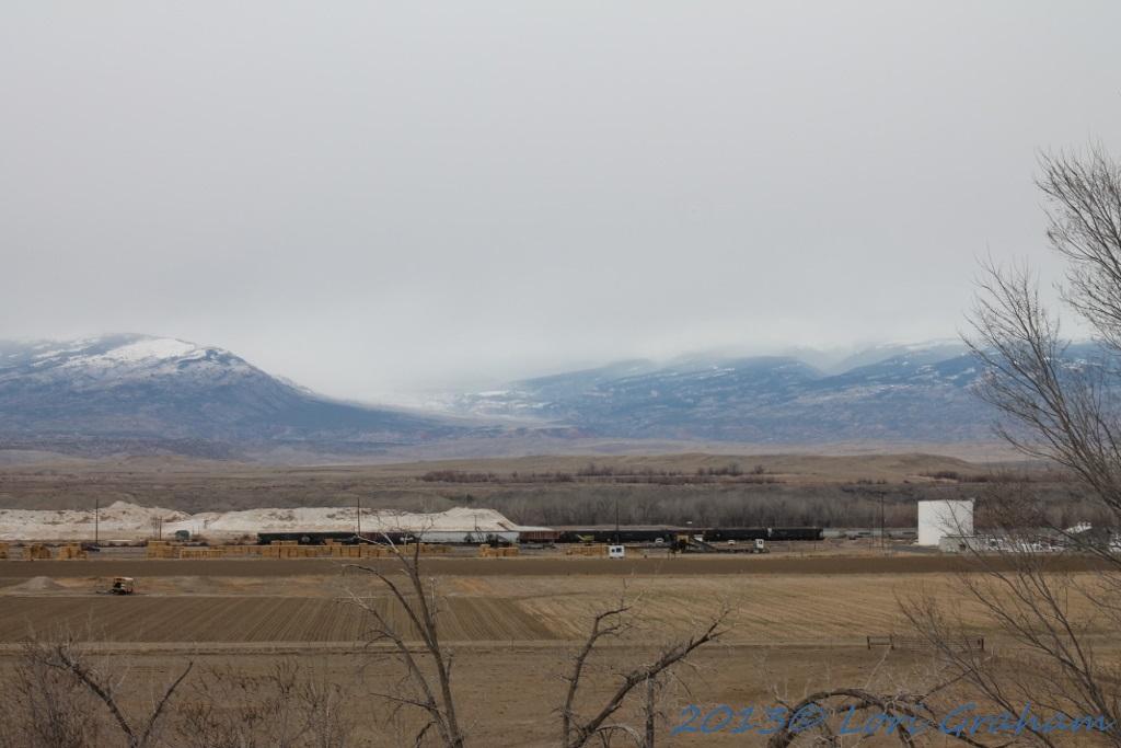 View of the Pryors last week.